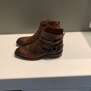 Frye Weston Cross Strap Harness Boot